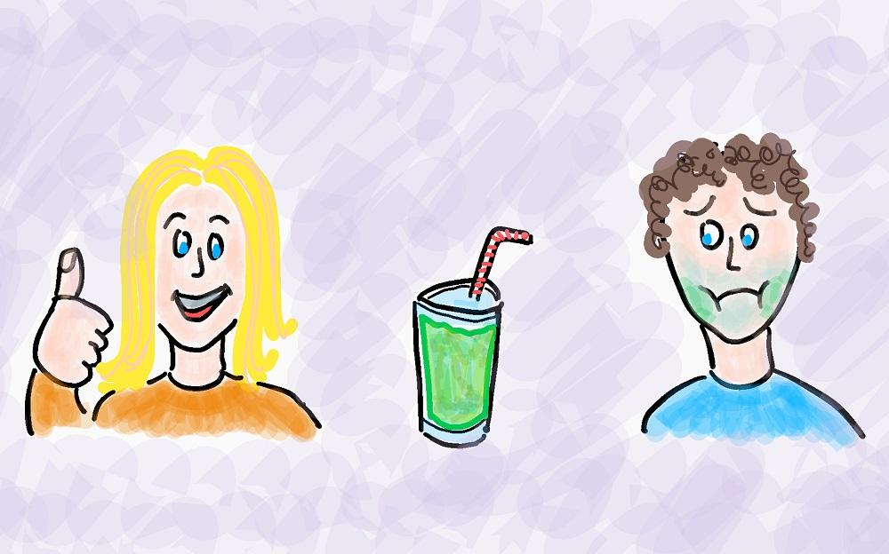 Abnehmen Tipp Grüner Smoothie
